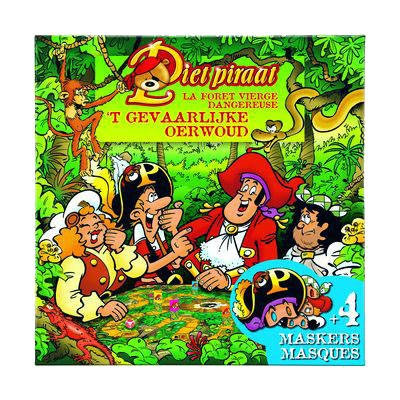 Wonderbaar Piet Piraat Spel: 't Gevaarlijke Oerwoud - Buitenspeelgoed Winkel HC-83