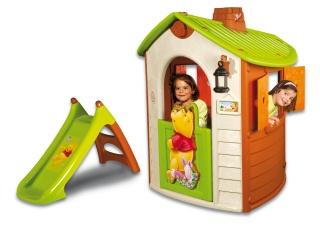 speelhuis smoby winnie 39 s nature home glijbaan buitenspeelgoed winkel. Black Bedroom Furniture Sets. Home Design Ideas